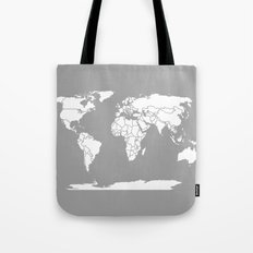 A Political Map of the World Tote Bag