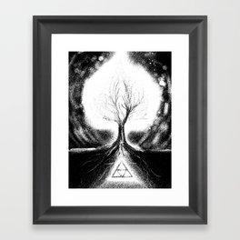 Triforce Roots Framed Art Print
