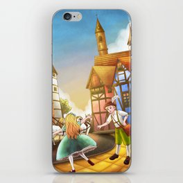 The Bavarian Village iPhone Skin