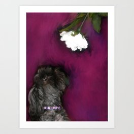 Take Time to Smell the Flowers Art Print