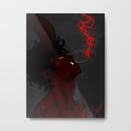 Demon Metal Print