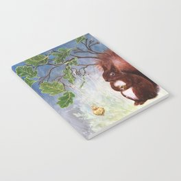 A fuzzy feeling - squirrel Notebook