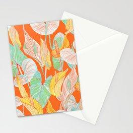 Lush Lily - orange zest Stationery Cards
