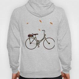 Cycling cartoon poster Hoody
