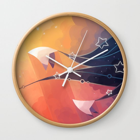 Nightbringer Wall Clock