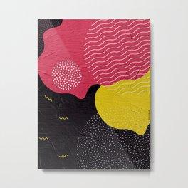 Colorful shapes Metal Print