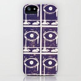 Magic Eyes iPhone Case