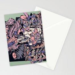 Island pandemonium Stationery Cards