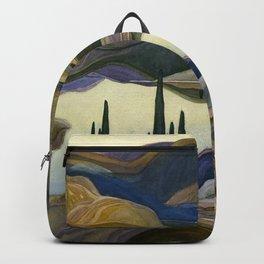 Canadian Landscape Franklin Carmichael Art Nouveau Post-Impressionism Mirror Lake Backpack