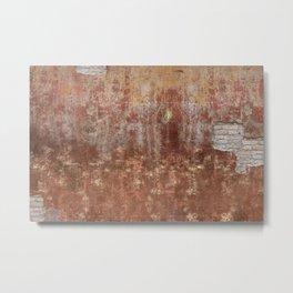 Brown Wall Metal Print