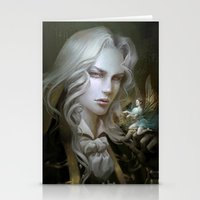 castlevania Stationery Cards featuring Alucard. Castlevania Symphony of the Night by Nell Fallcard