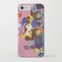 simpsons iPhone & iPod Cases featuring The Simpsons by Ann Marcellino