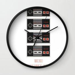 I Heart Nintendo Wall Clock