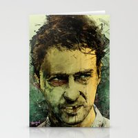 monster Stationery Cards featuring Schizo - Edward Norton by Fresh Doodle - JP Valderrama