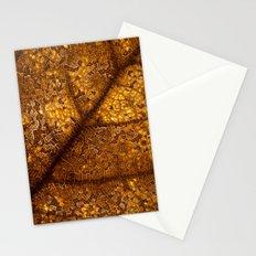 illuminated leaf Stationery Cards