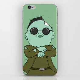 zombies style iPhone Skin