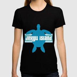 Jekyll Island St. Simons Georgia GA Loggerhead Sea Turtle T-Shirt T-shirt