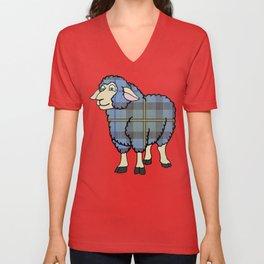 Smith Tartan Sheep Unisex V-Neck