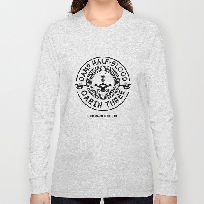 Percy Jackson - Camp Half-Blood - Cabin Three - Poseidon Long Sleeve T-shirt