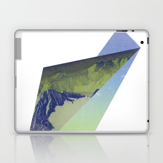 Triangle Mountains Laptop & iPad Skin