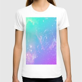 galaxy pastel T-shirt