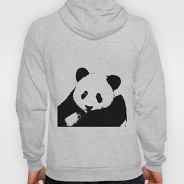 Giant Panda in Black & White Hoody
