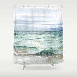 Oceanscape of Anna Maria Island Florida. Shower Curtain