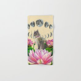 Moonphase Panda Hand & Bath Towel