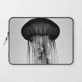 Jellyfish Black and White Laptop Sleeve
