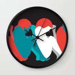 Gender PRIDE LGBT LGBTIQ QUEER FEMINIST FEMINISM ACTIVISM ACTIVIST Wall Clock