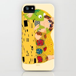Klimt muppets iPhone Case
