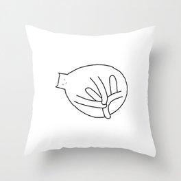 Cat 79 Throw Pillow