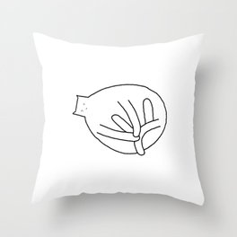 Cat 79 Throw Pillow