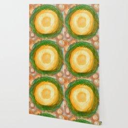 The green Wreath Wallpaper