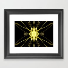 Yellow Star DS150721a Framed Art Print