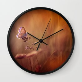 Wonders of a sunset Wall Clock