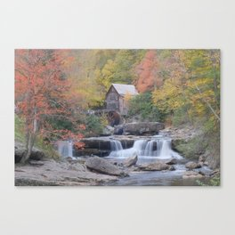 Almost Heaven Grist Mill Canvas Print