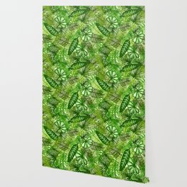 Jungle Foliage Wallpaper