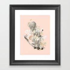 Stranger Danger I Framed Art Print