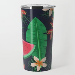 Tropical Watermelon Travel Mug