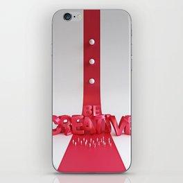 Be Creative iPhone Skin