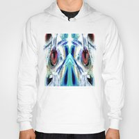 pain Hoodies featuring Pain by Robin Curtiss