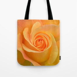 Warm Yellow Rose Tote Bag