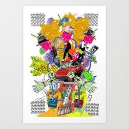 Select Collision Art Print