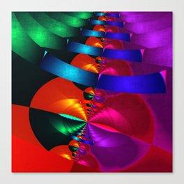 a fractal colormix Canvas Print