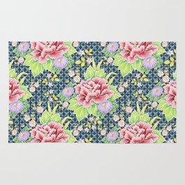 Kimono Bouquet Brocade Rug