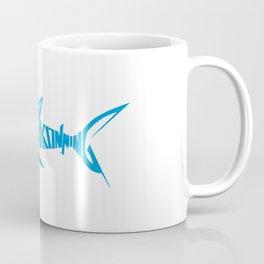 Stop Shark Finning (blue) Coffee Mug