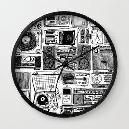 Music Boxes Wall Clock