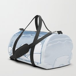 In Paradise Labyrinth Andre Bloc Duffle Bag
