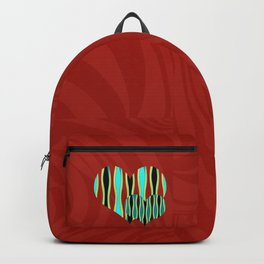Love Exotic Hearts Backpack